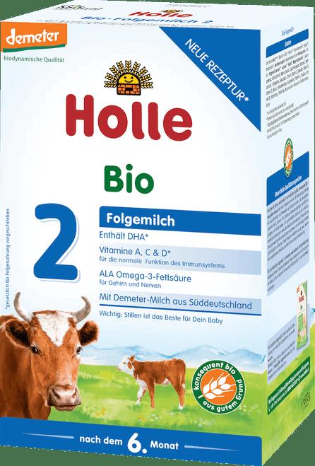 Holle Stage 2 Organic (Bio) Follow-on Infant Milk Formula (600g)