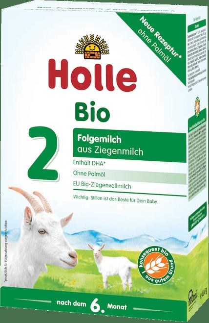Holle Goat Stage 2 Organic (Bio) Follow-on Infant Milk Formula (400g)