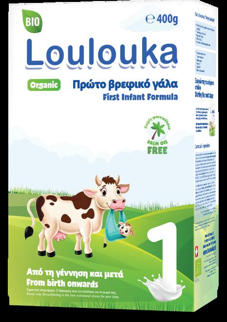 Loulouka Stage 1 Organic (Bio) Infant Milk Formula (400g)