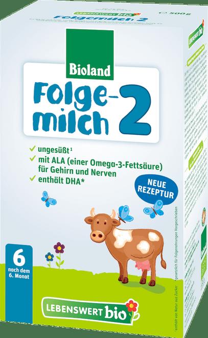 Lebenswert Stage 2 Organic (Bio) Follow-on Infant Milk Formula (500g)
