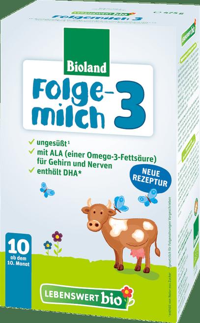 Lebenswert Stage 3 Organic (Bio) Baby Milk Formula (475g)