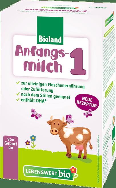 Lebenswert Stage 1 Organic (Bio) Infant Milk Formula (500g)