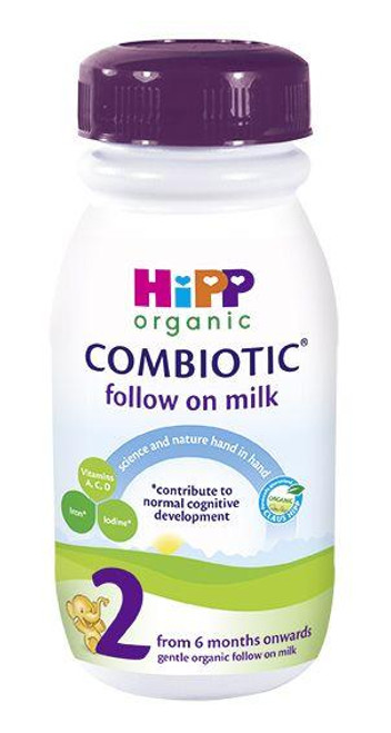 12 Pack of Premixed Stage 2 Combiotic Follow-On Milk Formula (250ml) - UK Version