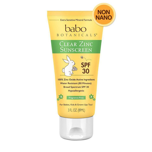 Clear Zinc Sunscreen Lotion - Fragrance Free