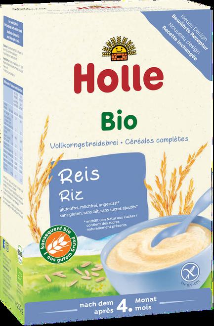 Holle Rice Flakes Organic Porridge Cereal