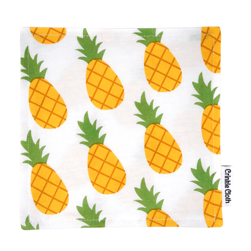 Crinkle cloth with pineapple pattern