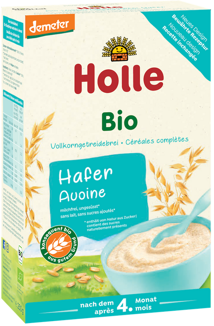 Holle Oatmeal Organic Porridge Cereal
