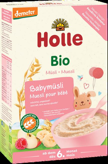 Box of Holle Muesli Organic Porridge Cereal