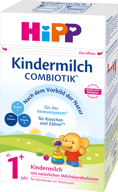 HiPP 1+ Years Combiotic Childrens' Milk (Stage 4) Formula (600g)