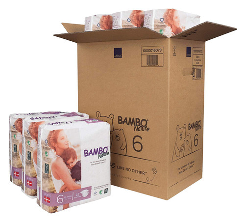 Box of Bambo Diapers 6