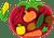 Vegetable Shape Sorter