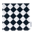 Crinkle cloth with checkered pattern