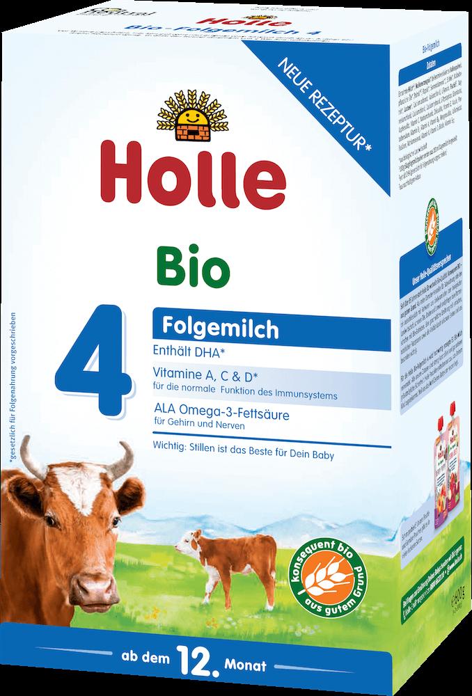 Holle Stage 4 Organic (Bio) Toddler Milk Formula (600g)