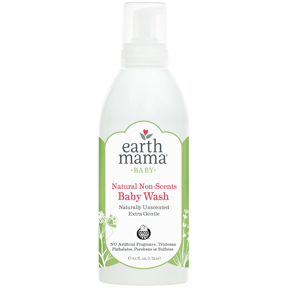 Bottle of Earth Mama Natural Non-Scents Baby Wash