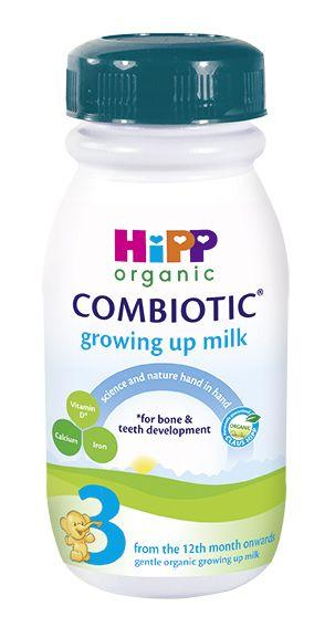 12 Pack of Premixed Stage 3 Combiotic Growing Up Milk Formula (250ml) - UK Version