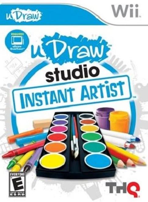 uDraw Studio Instant Artist Nintendo Wii Game