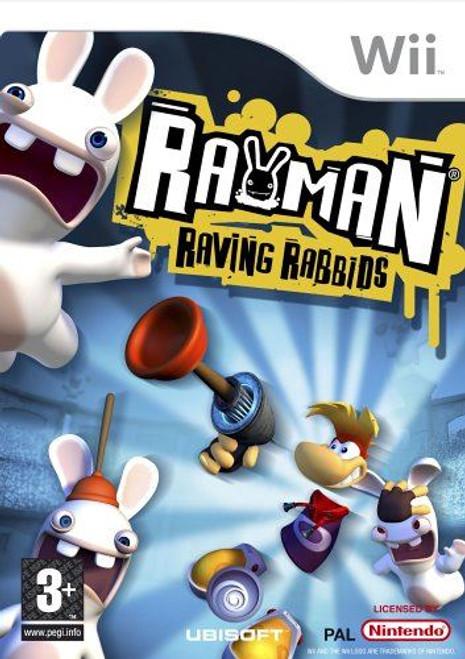Rayman Raving Rabbids Nintendo Wii Game