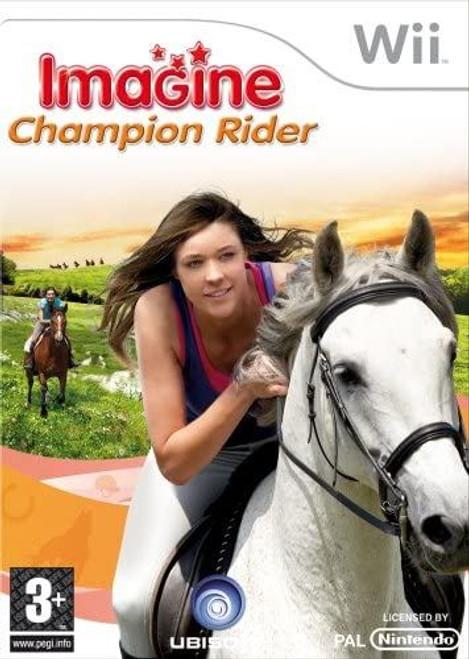 Imagine Champion Rider Wii Game