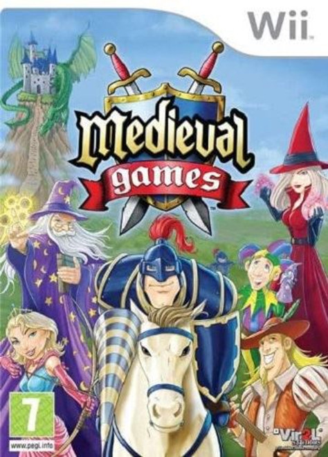 Medieval Games Nintendo Wii Game (DELETED TITLE)