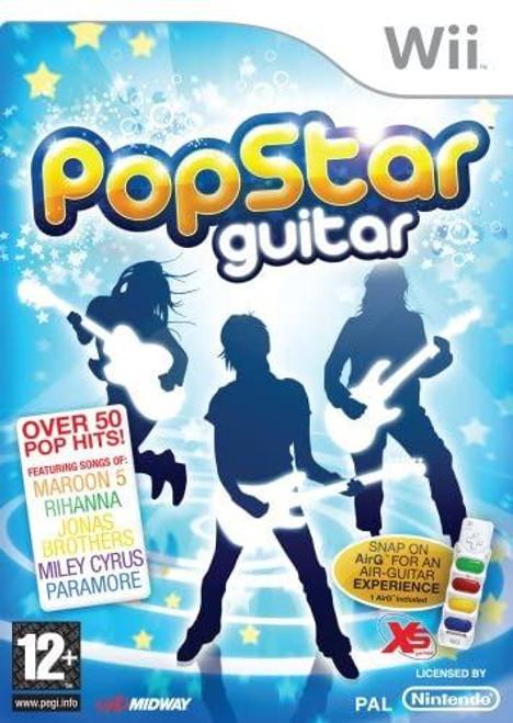 Pop Star Guitar Nintendo Wii