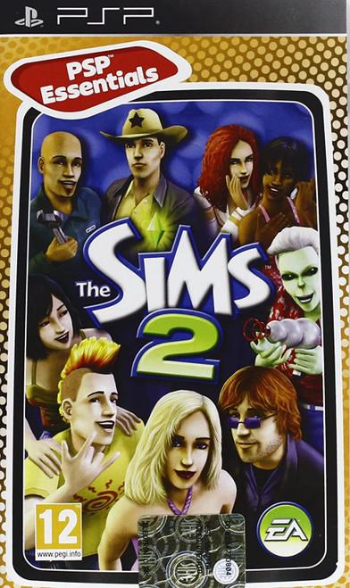 Sims 2 Essentials PSP Game (Italian Box - Multi-Language In Game)