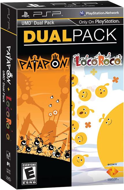 Patapon & LocoRoco Dual Pack PSP Game