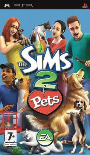 Sims 2 Pets Essentials PSP Game (Italian Box - Multi-Language In Game)