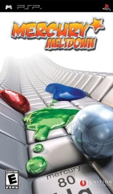 Mercury Meltdown PSP Game