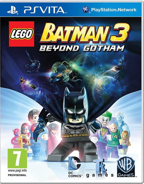 Lego Batman 3 Beyond Gotham PS Vita Game (Italian Box - Multi Language In Game)