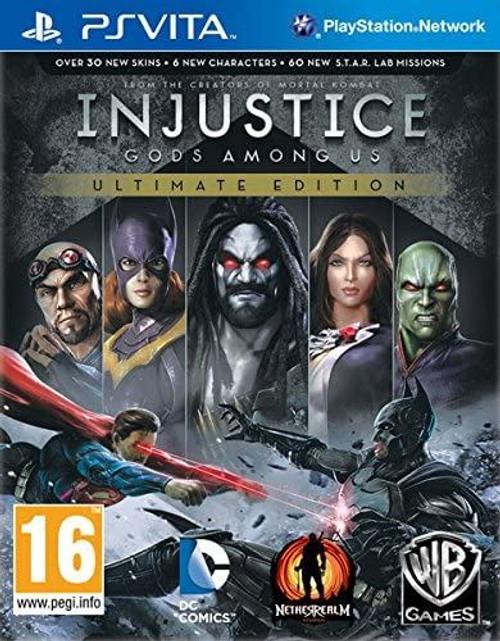 Injustice Gods Among Us Ultimate Edition PS Vita (Spanish Box Multi Language)