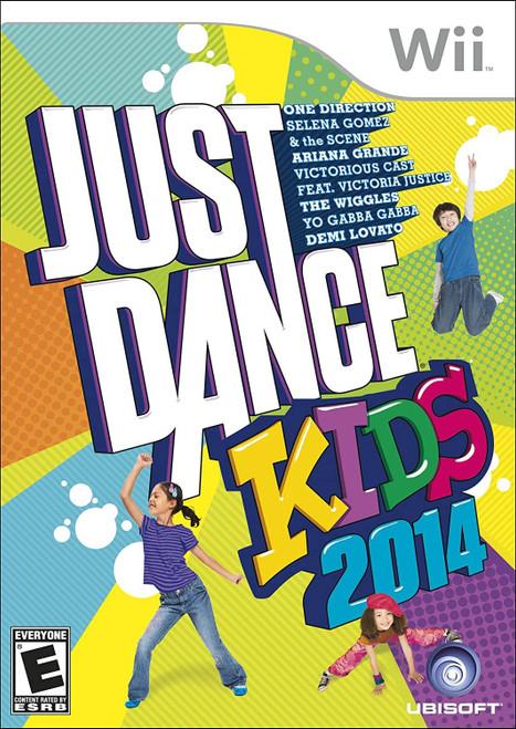 Just Dance Kids 2014 Wii -U Game (Italian Box - ENG/SPA/FRE In Game )