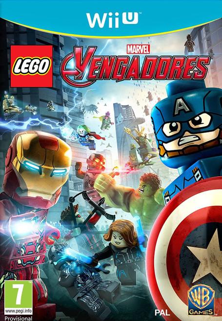 Lego Avengers Wii-U Game (Spanish Box - Multi Language EFIGS In Game)