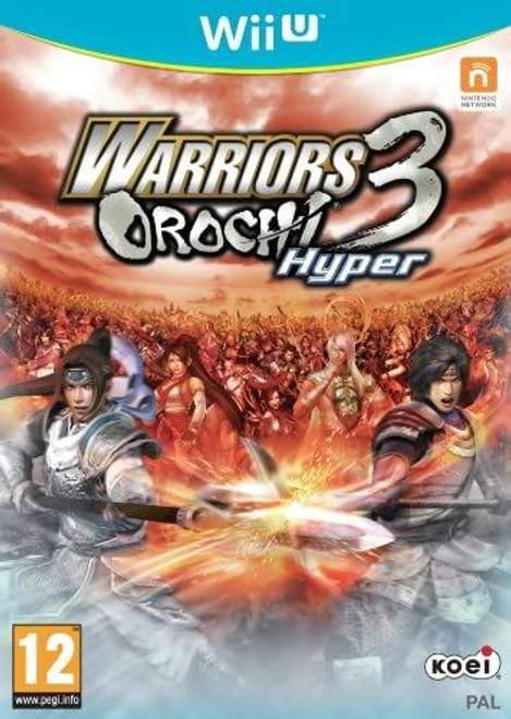Warriors Orochi 3 Hyper Nintendo Wii U (Italian Box Multi Language EFIGS In Game