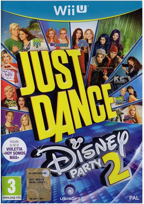 Just Dance Disney Party 2 Wii-U Game (Italian Box - Multi-Language In Game)