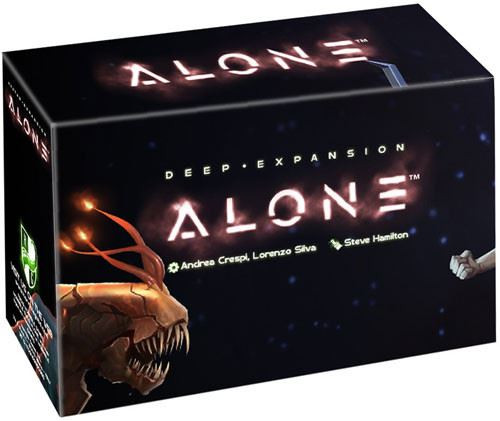 Alone- Deep Expansion Board Game