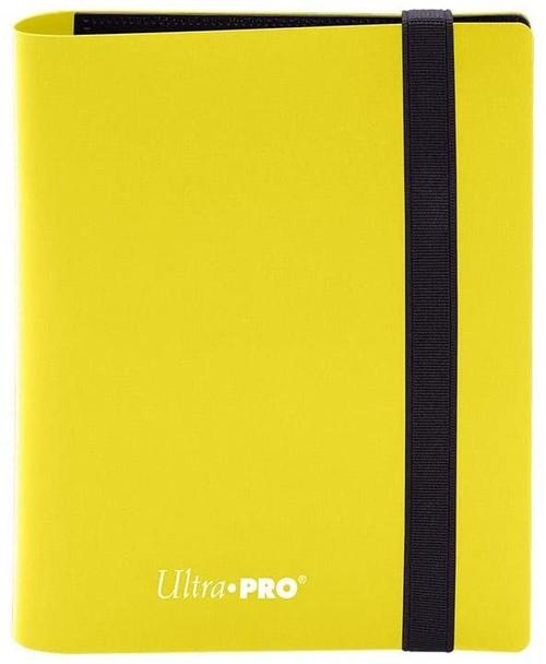 2-Pocket Eclipse Lemon Yellow Pro-Binder