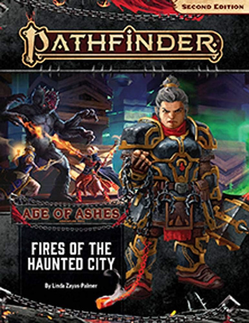 Pathfinder Adventure Path Fires of the Haunted City (Age of Ashes 4 of 6) 2nd Ed