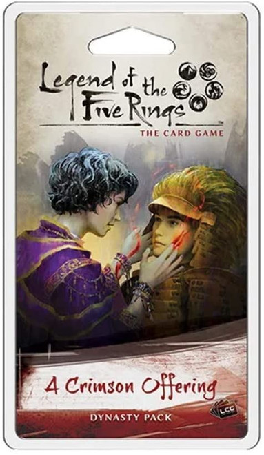 A Crimson Offering Dynasty Pack L5R Living Card Game