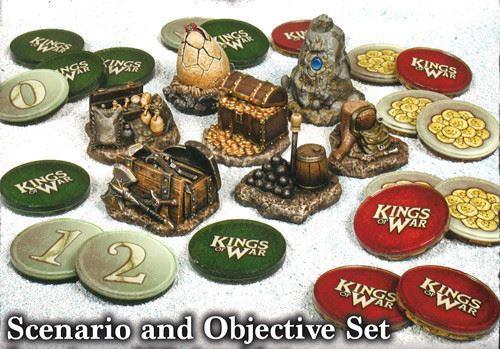 Kings of War 3rd Edition Scenario & Objective Set