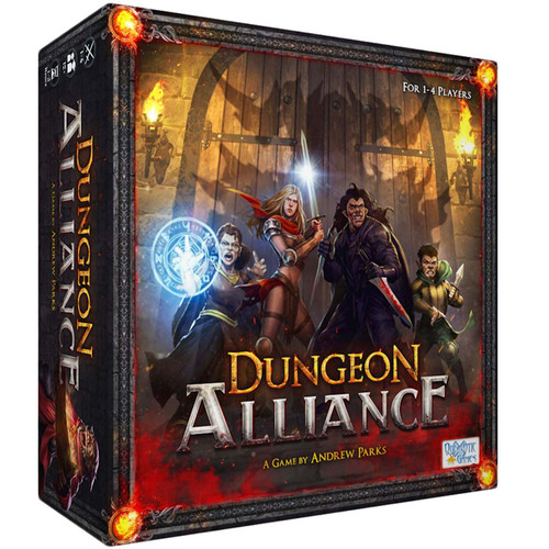Dungeon Alliance Board Game
