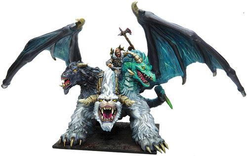 Kings of War 3rd Ed Northern Alliance Lord on Chimera