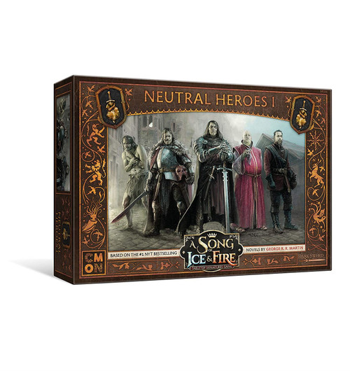 A Song Of Ice And Fire - Neutral Heroes 1 Expansion Pack Miniatures Game