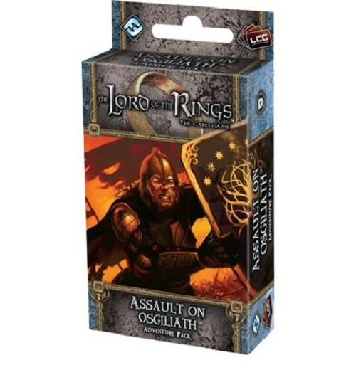 The Lord of the Rings Lcg: Assault on Osgiliath Adventure Pack Card Game