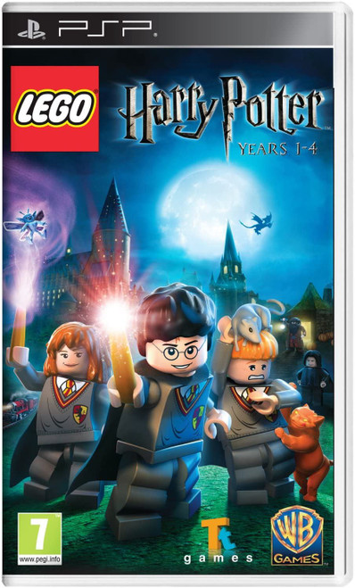 LEGO Harry Potter Years 1-4 Sony PSP (Italian Box - Multi Language In Game)