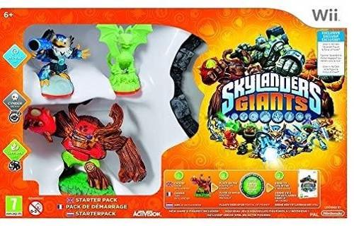 Skylanders Giants Starter Pack Wii Game (Region Locked To NTSC)