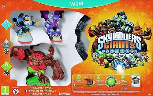 Skylanders Giants Starter Pack Nintendo Wii U Game (Region Locked to NTSC)