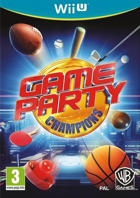 Game Party Champions Nintendo Wii U Game (French Box - Multi Language In Game)