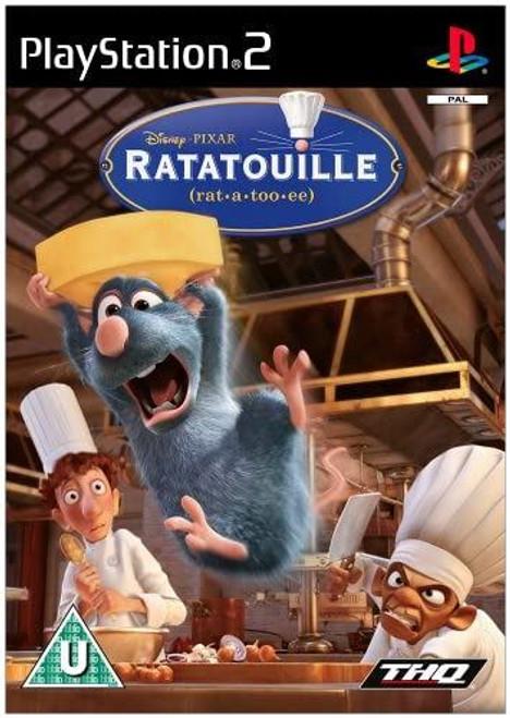 Ratatouille Platinum PS2 Game (Spanish Box)
