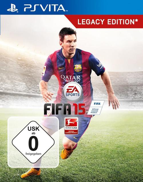 FIFA 15 Legacy Edition PSVita Game (Polish Box Multi Language In Game)
