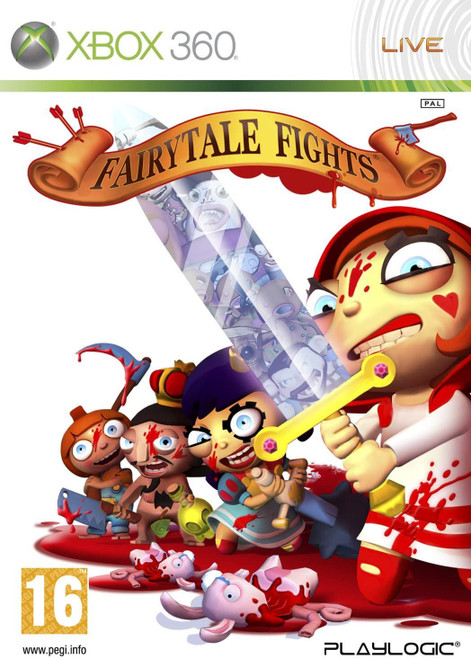 Fairytale Fights Xbox 360 Game (Italian Box - Multi Language In Game)